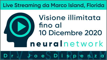 Dr. Joe Dispenza - Diretta Streaming